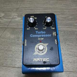 Artec Turbo Compression Guitar Pedal