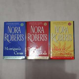 Nora Roberts 'Circle Trilogy' 3 books