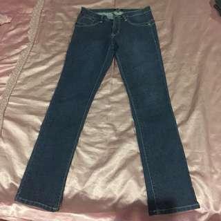 Hardware skinny jeans