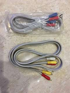 Audio video cables