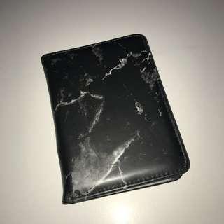 Laneige Marble Black Passport Holder