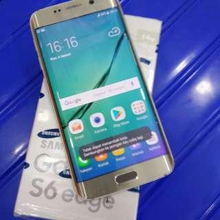 Samsung S6 EDGE 64GB Gold mulus Apik ful original sein no kendala