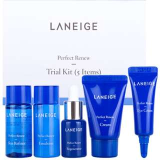 💰28% OFF Great Deal💰 Laneige Perfect Renew Trial Kit (5 items) (UP: $18.00)