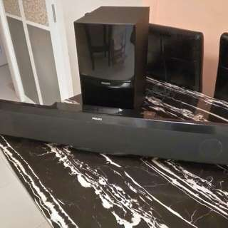 Soundbar BD player