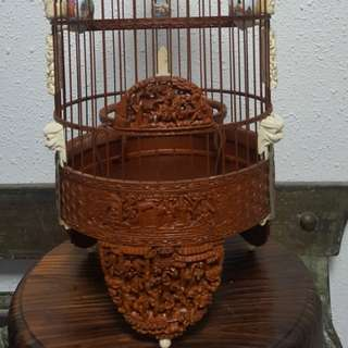 8.4 inches fine handcrafted china made cage