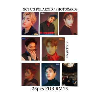 NCT U POLAROIDS / PHOTOCARDS