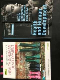 Health and Human Development Textbooks