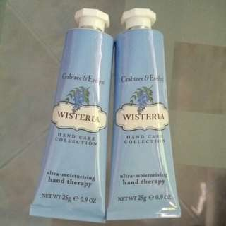 Crabtree & Evelyn ~ Wisteria Hand Therapy