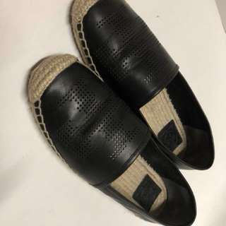 Tory Burch - Black Espadrilles 黑色草鞋