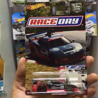Hot Wheel Race Day Acura Nsx Advan Hotwheels