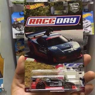 Hot Wheel Race Day Acura Nsx Advan Hotwheels