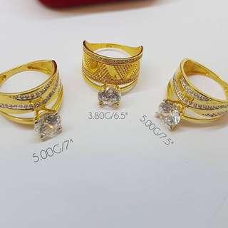 18KARAT SAUDI GOLD RING