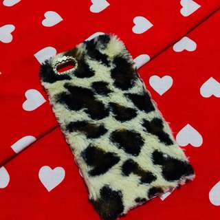 Fur case Iphone 6+