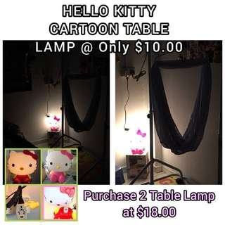 Suitable for Feeding Baby 🍼WARM LIGHT 💡 HELLO KITTY TABLE LAMP