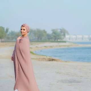 Pleated abaya collection