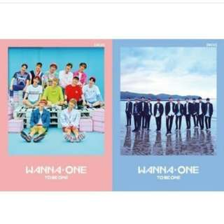 WANNAONE- FIRST MINI ALBUM [TO BE ONE]