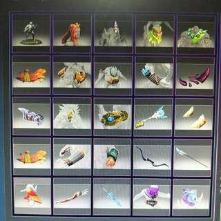 Dota 2 Heroic / Tournament items
