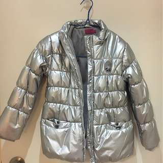 Slightly used down jacket for girls size 8A