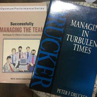 Managing in Turbulent Time, Successfully Managing the Team