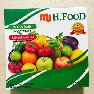 H Food 蘋果藍莓纖維粉