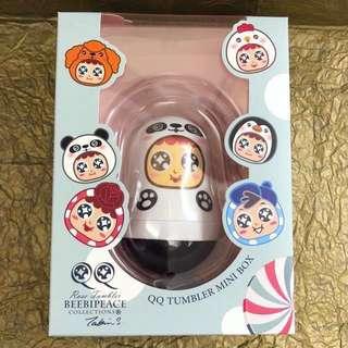 Beebipeace QQ不倒翁萬字夾盒(熊貓) QQ Tumbler Paper Clips Box (Panda)
