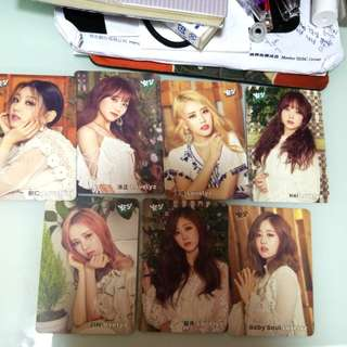 Lovelyz yes card(*冇智愛)