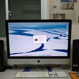 Apple iMac 27 Inch Mid 2010 3.2GHz Core i3 4GB RAM