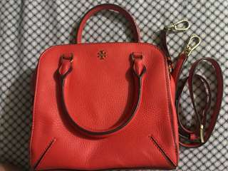 Tory burch robinsons pebbled leather