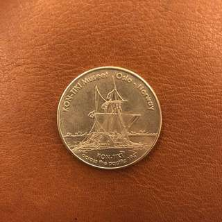 Norwegian Heritage Collectors Coin Kon-Tiki