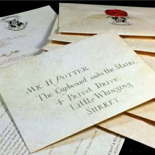Promo harry potter acceptance letter free postage