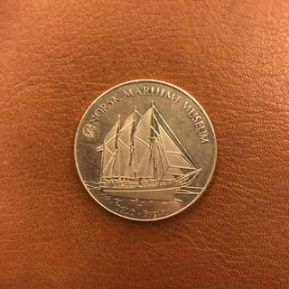 Norwegian Heritage Collectors Coin  Bygdey