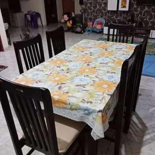 Meja makan set