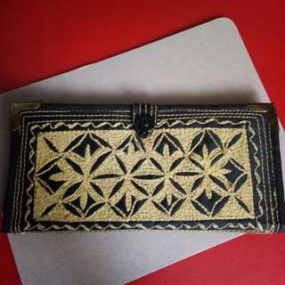 Embroidery Wallet [Yellow]