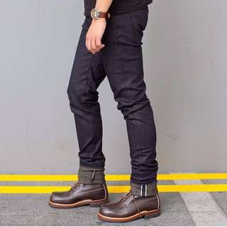 Naked and Famous Super Skinny Guy Selvedge Denim