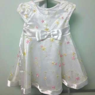 Princess Dress With Embroidery