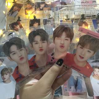 [LIMITED STOCK] WANNA ONE TRANSPARENT PC