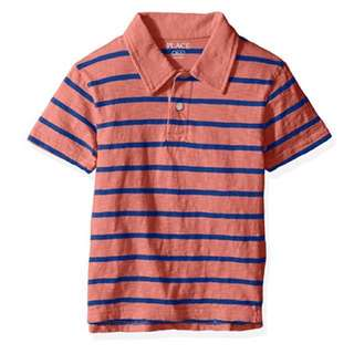 SALE 33% Off - 4 years BNWT The Children's place baby boy striped polo tee (orange)
