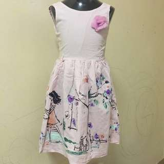 6-7yo F&F Dress