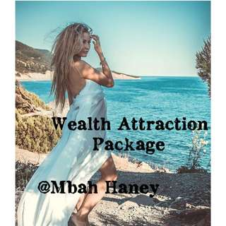 Wealth Attraction Package ( Model in Picture is Mbah Haney Customer from Russia )