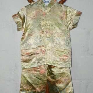 Baju cheongsam baby