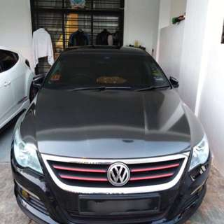 Volkswagen Passat CC for rent!
