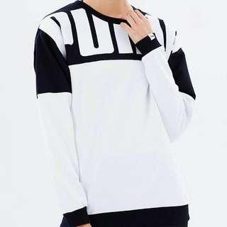 (FREE SF) PUMA Style Rebel Crew Women's Sweatshirt