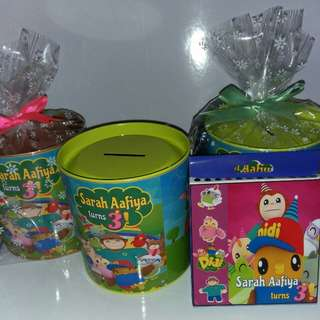 Customised Didi & Friends Theme Goodie Bag