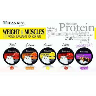 Oceankiss Weight And Muscle Supplement For Cats