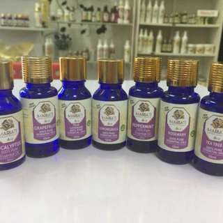 AROMAHERAPY ESSENTIAL OILS