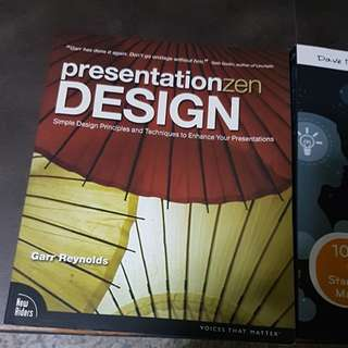 Brand new book on Presentation Design