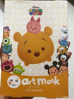 Disney Tsum Tsum Lovemore repairing art mask (special Edition from Taiwan)