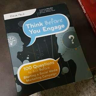 Brand new book on social media engagement