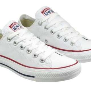 CONVERSE WHITE LOW ORIGINAL WITHOUT BOX