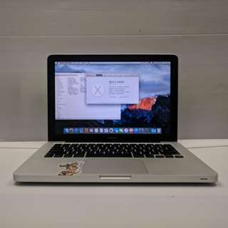 """[NVIDIA Core2Duo 4GB] Apple MacBook 5,1 13"""" 2008 Late A1278 Core2Duo 4GB Ram 250 GB HDD (With Charger/USB mouse/Case)"""